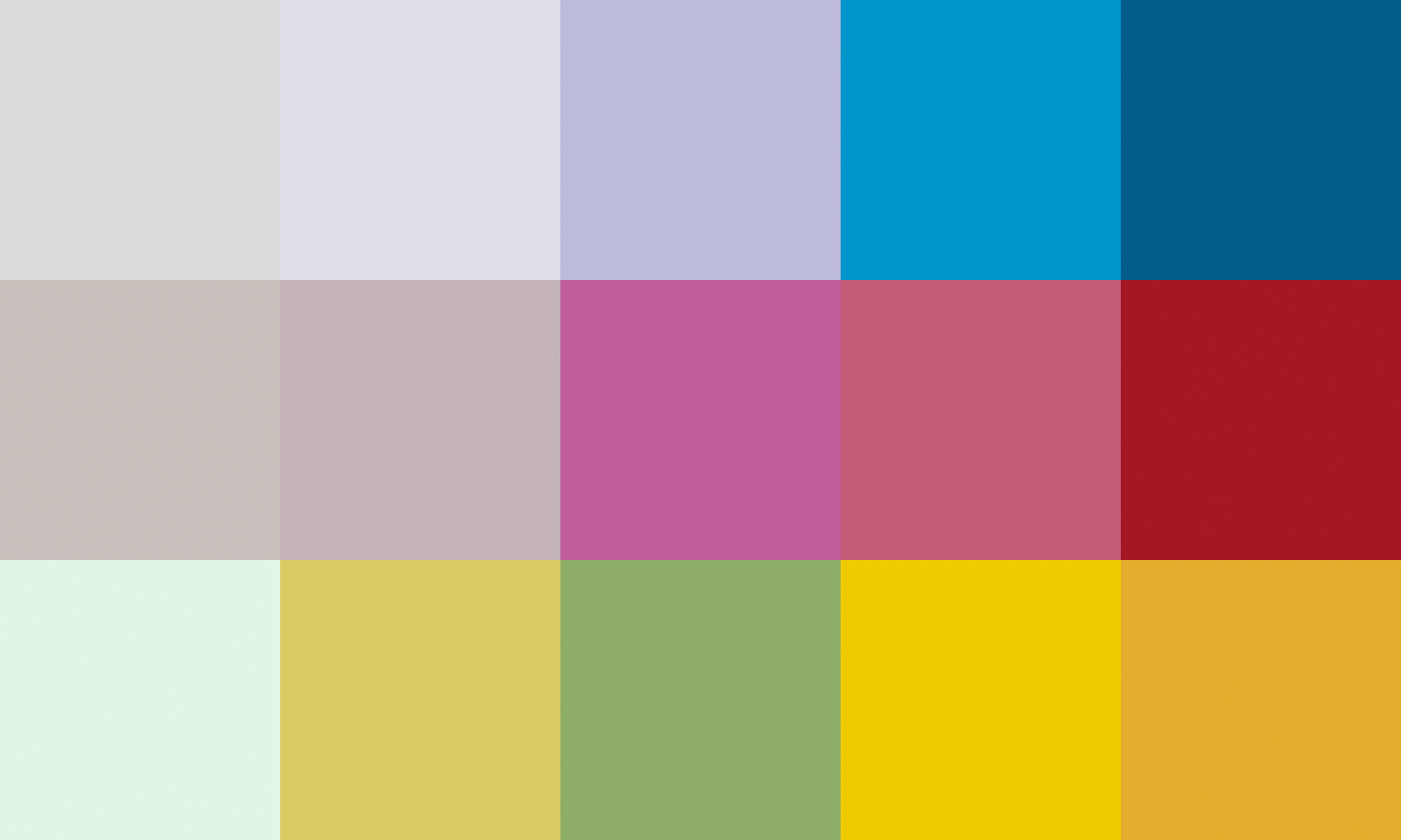 Lily's colour map