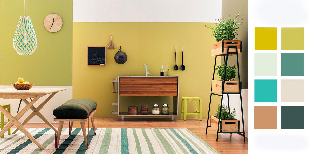 Apartamento BH - esquema de cores