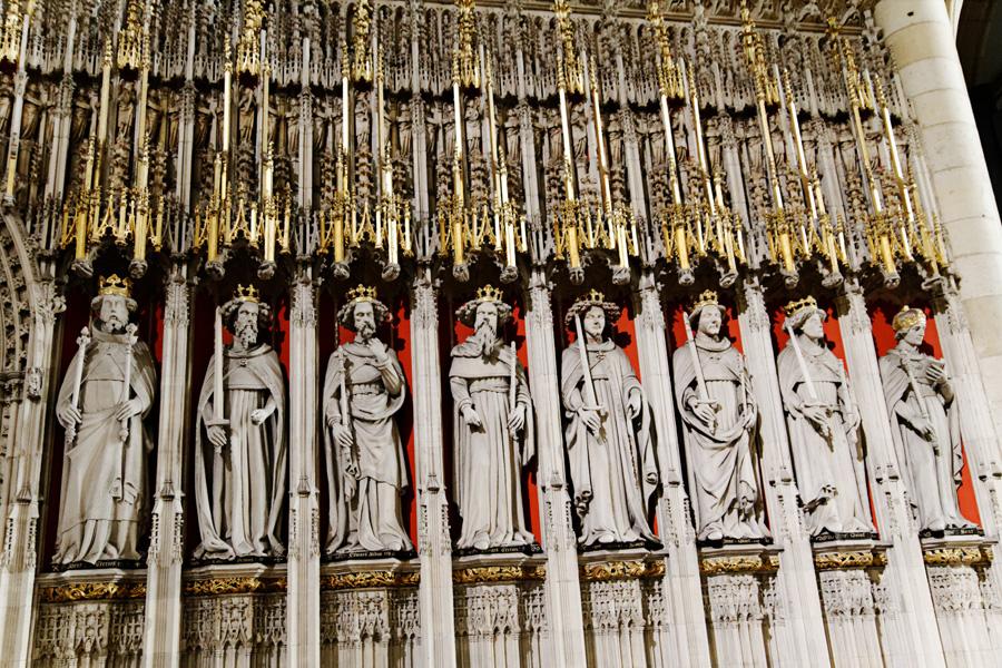 Estátuas coro