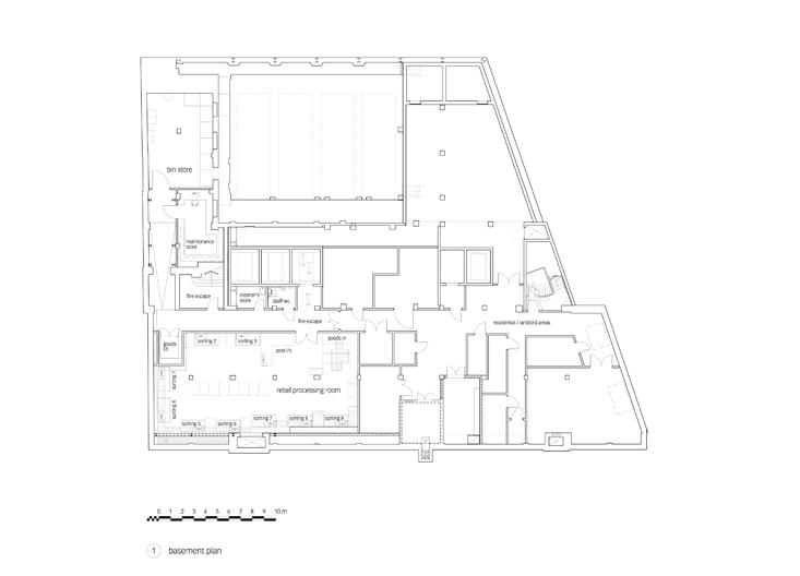 Foyles - basement