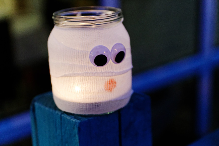Lanterna no potinho 02
