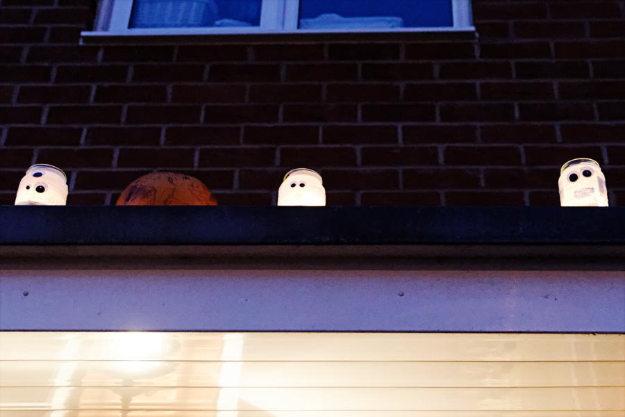 Lanterna no potinho família