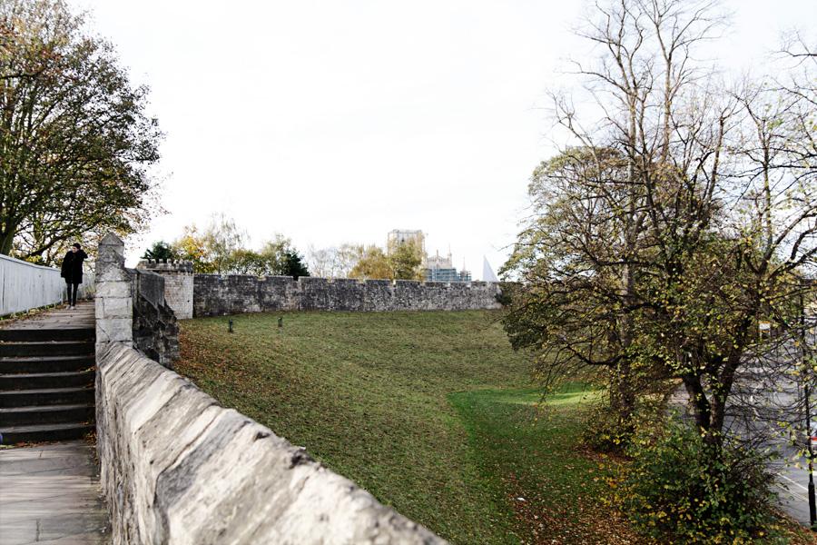 A muralha medieval, vista da muralha :)