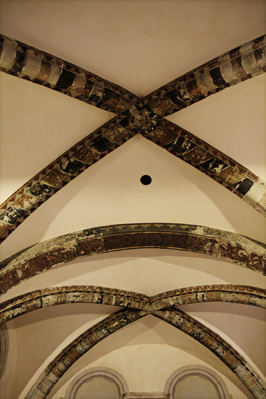 Arcos românicos igreja St Laurence