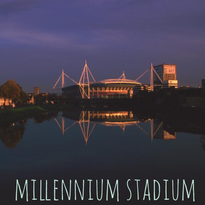 Millennium Stadium banner