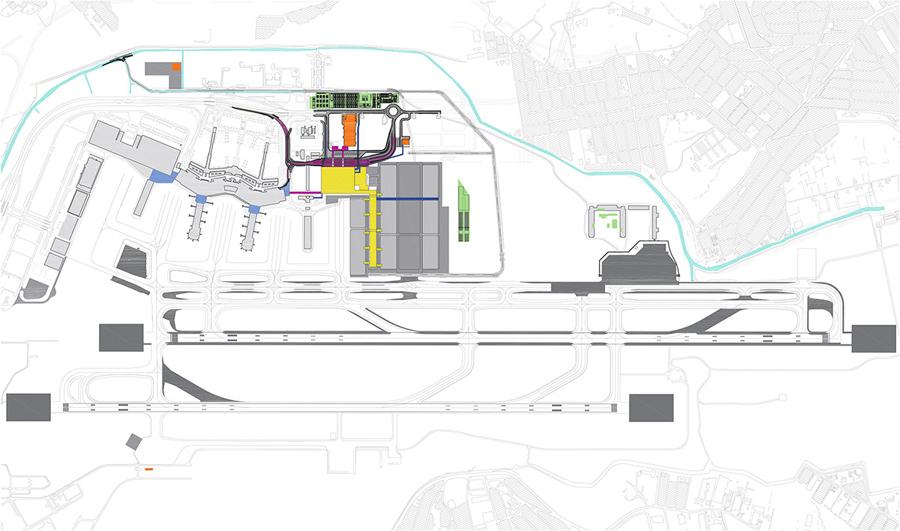 Terminal 3 Guarulhos implantação