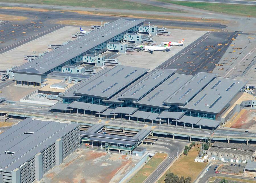 Terminal 3 Guarulhos vista aérea