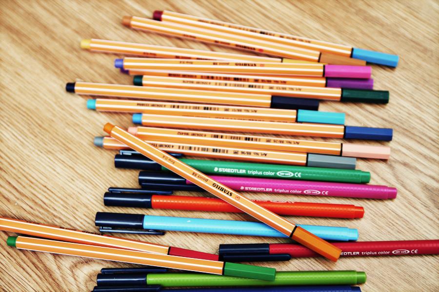 artigos de desenho para arquitetos canetas stabilo e staedtler