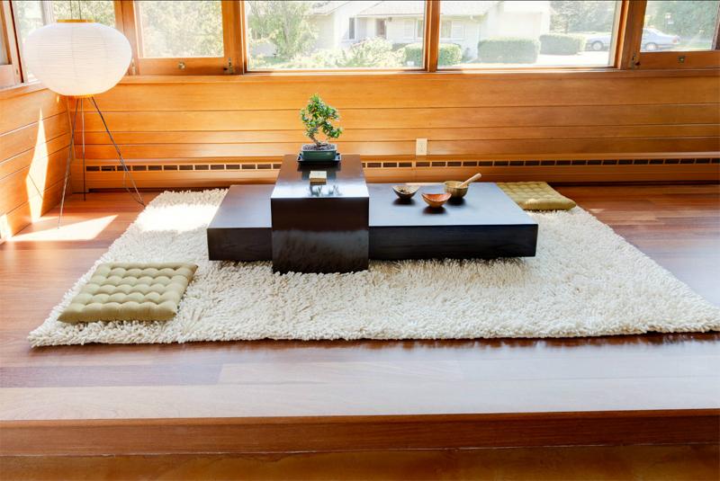 espaço zen meditação oração genesis architecture