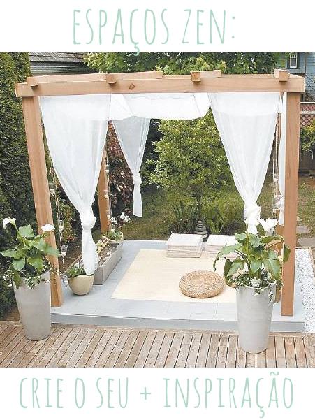 espaço zen meditação oração outdoor topo