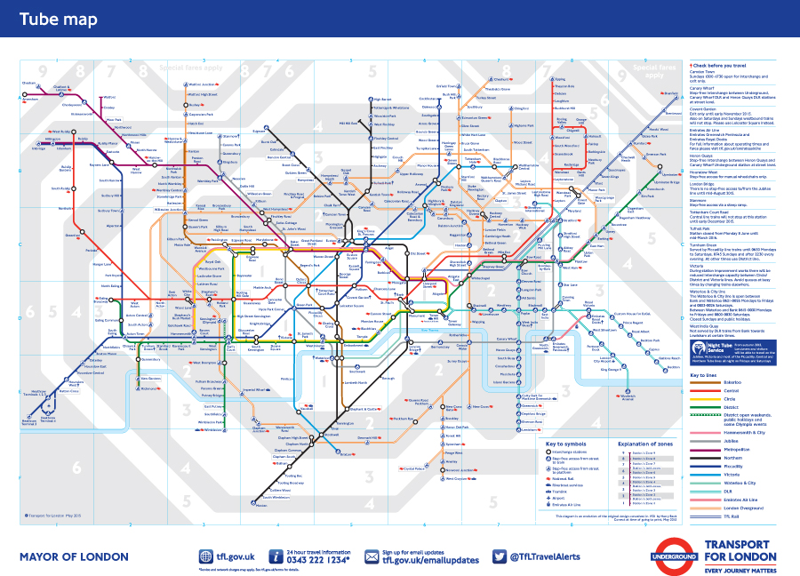 O mapa do metr de londres arquicarolina - Horario metro paris ...