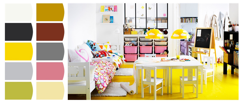 _02 quartos de brincar ikea esquema de cores