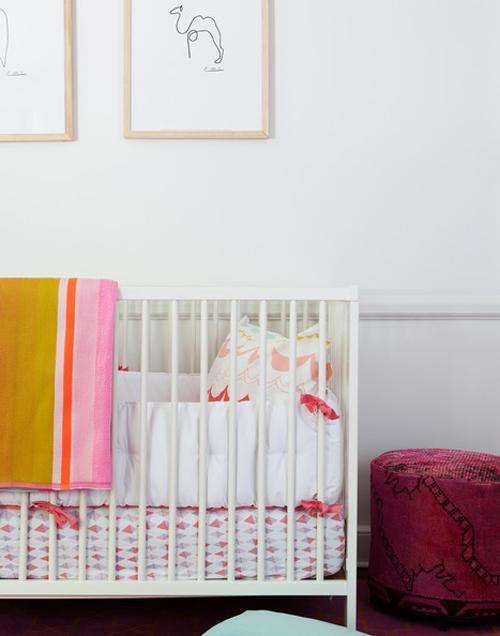 quartos de bebê rosa sem ser rosa