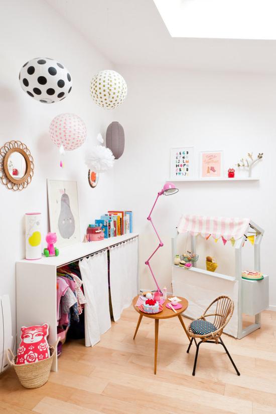 quartos montessori inspiração rosa