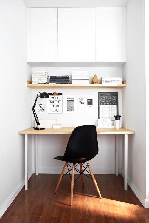 09 home office iluminação houzz