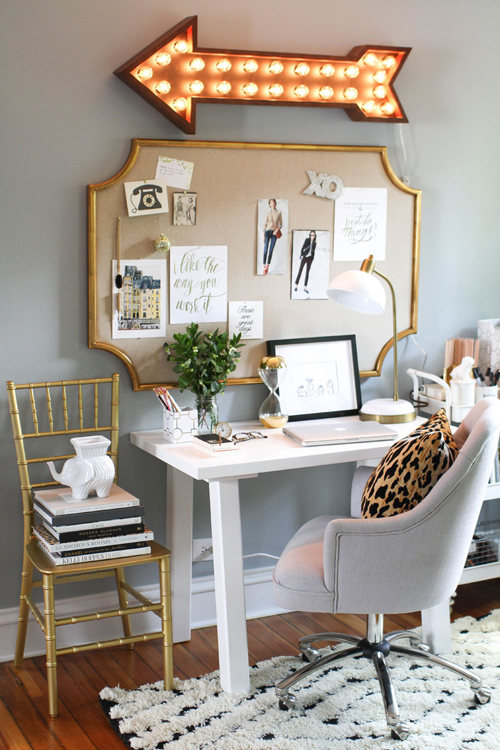 10 home office decoração the very girl