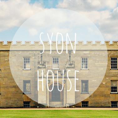 Syon House banner