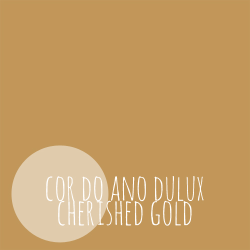 banner cor do ano dulux cherished gold
