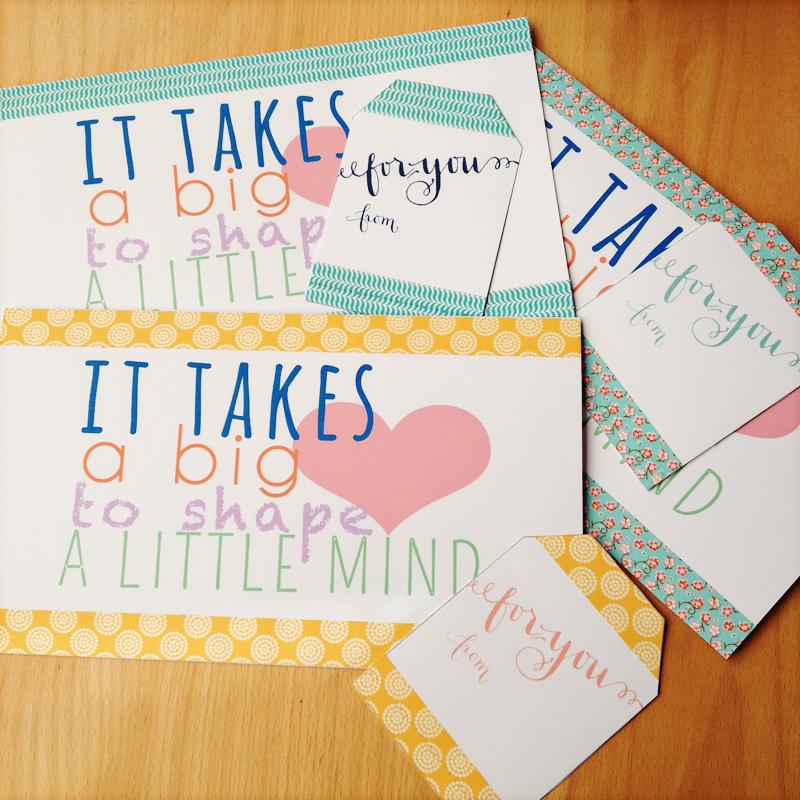presente para o dia dos professores kit spa cartão
