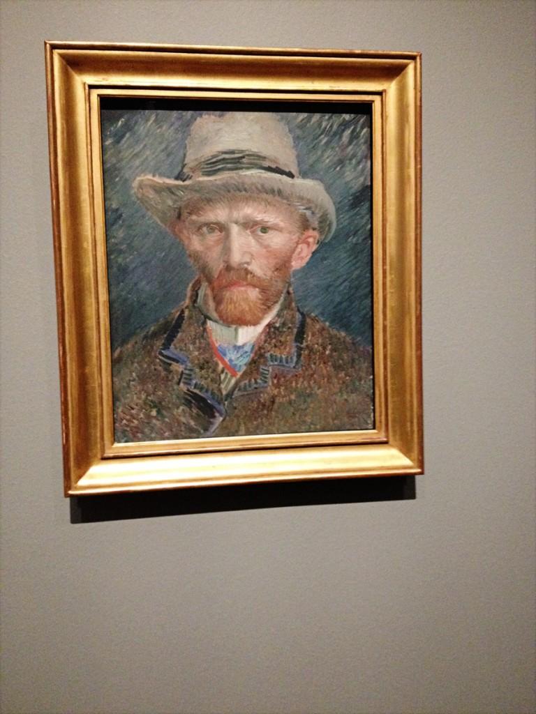 17_Van Gogh Selfie no Rijksmuseum Amsterdam