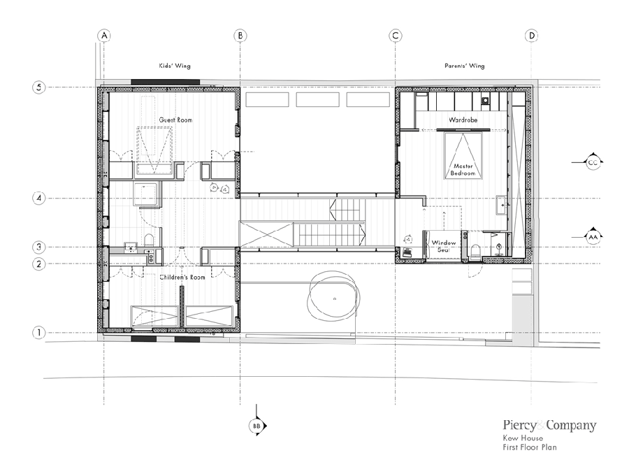 Kew House Piercy and Company Primeiro Pavimento