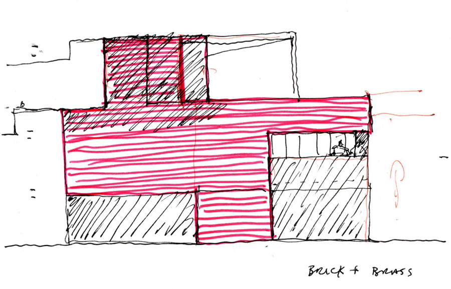 Levring House Jamie Fobert Architects croquis 02