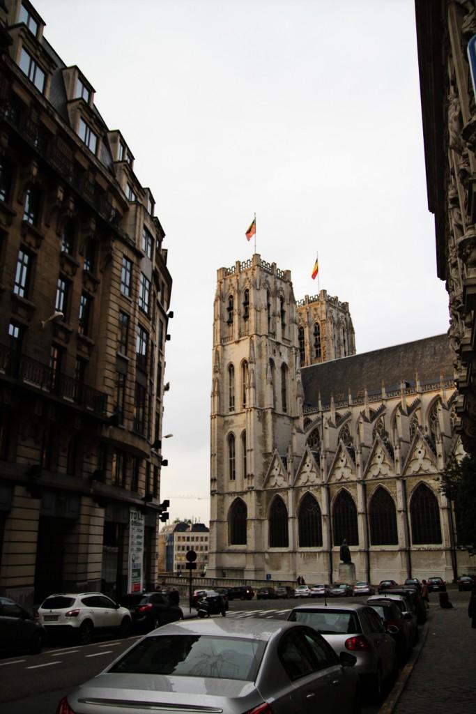 Roteiro Arquitetura Bruxelas Catedral St Michel e Gudule 01