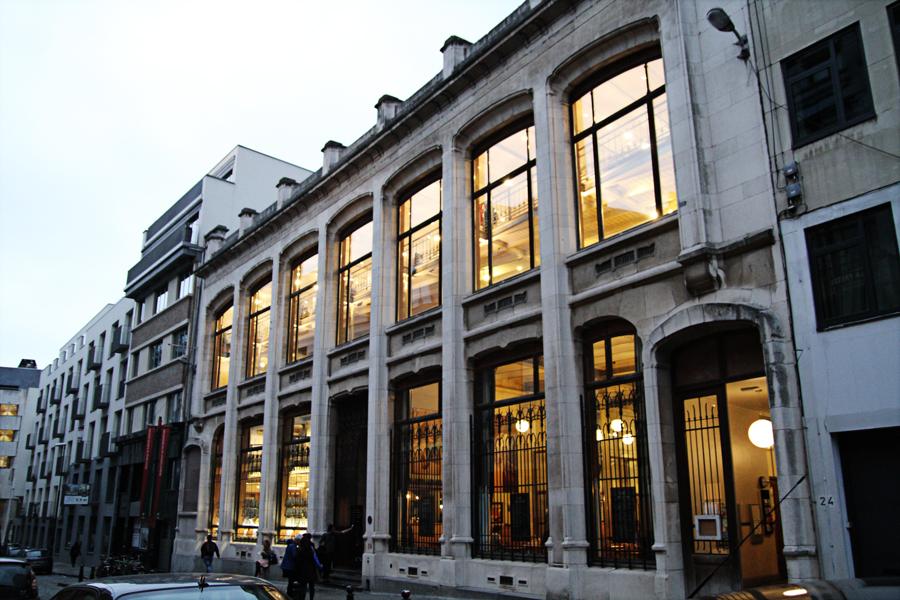 Roteiro Arquitetura Bruxelas Comic Arts Center