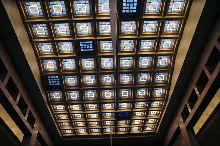Roteiro Arquitetura Bruxelas Estação Central Interior 01