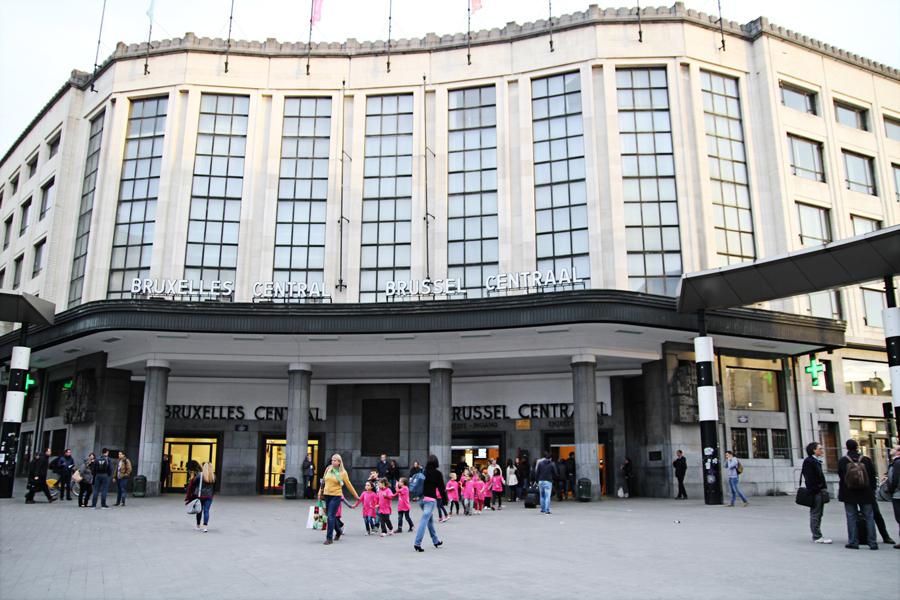 Roteiro Arquitetura Bruxelas Estação Central Victor Horta