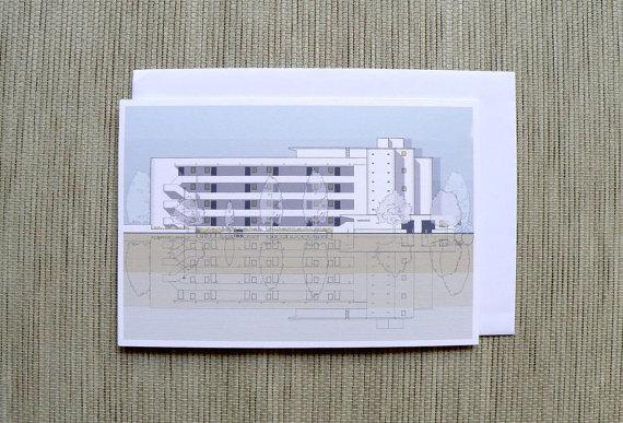 cartão arquitetônico