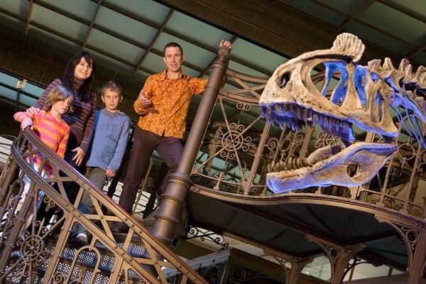 museu de ciências naturais escada