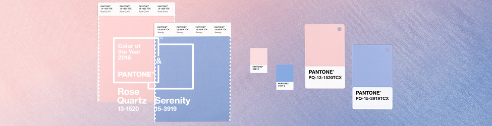 Pantone Cor do Ano Color of the Year Rose Quartz Serenity